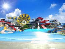 【家族旅行・一泊朝食】日本最大級のプールでワクワクの夏の思い出♪ 芝政1DAYパス付プラン☆彡