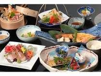 和食会席の一例(内容は季節によって異なります)