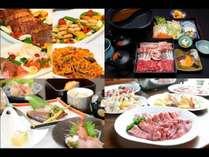 選べる夕食(イメージ)