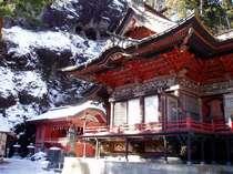 初詣も◎今や全国区となったパワースポットの榛名神社。国指定の文化財に指定されています。お車で約10分!