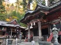 今や全国区となったパワースポットの榛名神社。国指定の文化財に指定されています。お車で約10分!