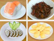 無料和洋朝食の新メニュー『ます寿しおにぎり』『ホタルイカ甘露煮』『プレーンオムレツ』『昆布巻き蒲鉾』
