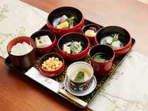 精進料理「鉄鉢朝食」
