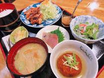 【夕食の一例】おまかせ定食