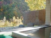 大自然に囲まれて豊平川を眺めながらゆっくりと温泉入浴泉質は肌に優しい単純硫黄泉