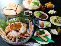 ◆お客様へ感謝を込めて◆【UMEYAの自家製冬野菜★お土産付き】≪大人気♪カニ満足コース≫