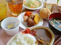朝食バイキング!(盛り付けイメージ)連泊の方もに好評、お惣菜は日替わり♪