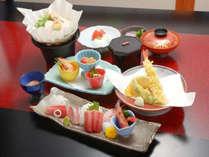 *【平日限定・夕食一例】お魚を中心としたお料理をご用意致します。