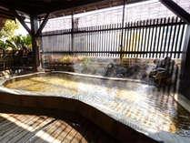 6階大浴場の露天風呂