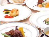 フランス料理のコース例