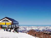 晴れた日には遠くの山々の風景がハッキリと見ることができます。