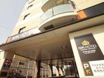 ホテル外観♪彦根駅から車10分、長浜へは約30分!ビジネス・観光にご利用下さい。