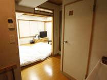 【平日限定プラン】和室1名利用!Wi-Fi&有線LAN無料!無料駐車場20台!サータ社製ベッド!