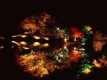 【心に響く景色】錦秋の玄宮園ライトアッププラン♪Wi-Fi&有線LAN無料!無料駐車場あり!
