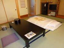 スタンダード1泊朝食及び素泊りの場合、お先に布団は敷かせていただきます