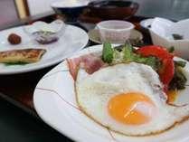 *朝食一例/栄養いっぱいの朝食をお召し上がり下さい。