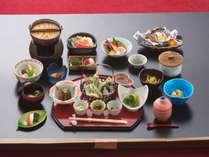 *【食事一例】ちょっと贅沢な満喫コース。