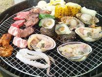 伊勢志摩ならではの魚介類BBQセット