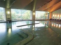 【大浴場】大きな天然温泉で癒しのひと時を