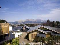 阿蘇五岳を一望できるロケーション