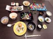 季節の会席料理 雪 (イメージ)
