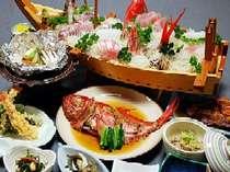 大きなお皿にまるごと一匹!金目鯛の煮付けを豪快に食す贅沢を♪(一例)