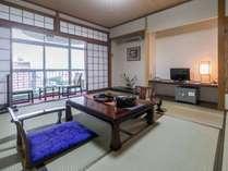 【お部屋】川側|和室(8畳~10畳)★Wi-Fi接続無料
