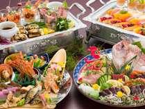 【お食事】夕食/南国土佐の郷土料理『皿鉢(さわち)料理』※一例