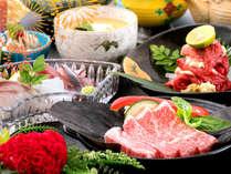 【和会席◇贅沢コース】肉の聖地、鹿児島県産の『黒牛ステーキ』!料理長こだわりの焼き加減で最高の味を