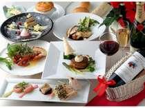 ■スカイレストラン「ボン・ルパ」■景色と共に、拘りのフレンチ料理に舌鼓。記念日やお祝いにも最適(例)
