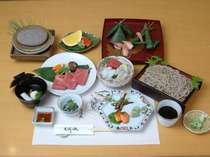■和食レストラン 美濃乃藏 懐石料理「飛騨」(例)■本格的な和懐石。荷物を置いて身軽にご来店下さい。