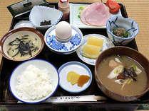 朝ご飯の料理一例です。