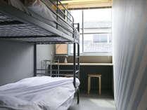 ツインルーム>二段ベッドにワクワク!