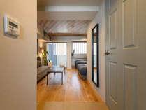 ドアを開けると広々としたラグジュアリーな空間が|ホテルVintage東京銀座