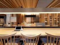 ◆カフェ「RIB & BAGUETTE」(リブ アンド バゲット)◆店内