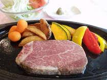 【1泊2食付】お料理グレードアップ♪米沢牛ヒレステーキに舌鼓♪