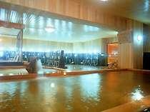 古代伝説「檜美香の湯」 :樹齢二千年を数える古代檜の浴槽で湯ったりと・・・