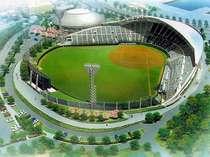 ●巨人軍キャンプ球場 セルラースタジアムはホテル目の前!!