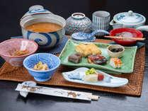 *【茶粥朝食(一例)】奈良名物の茶粥で朝から奈良の食文化体験を♪