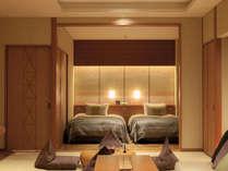 203露草 和室と寝室