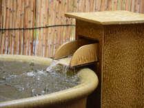 【六の湯(貸切風呂)】〔銀泉〕3階の奥にある露天風呂タイプの六の湯。