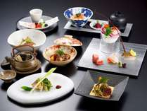 プラン名文末に【嵐山】又は【嵐山プラン】と記載されている夕食コース(写真はイメージです)