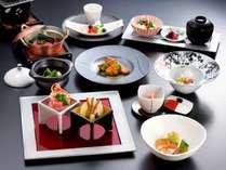 プラン名文末に【華】又は【京懐石 松】と記載されている夕食コース(写真はイメージです)
