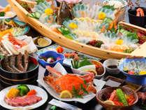 カニも美味しい、海鮮の宝庫・天草!メインはうまみと甘みの<渡り蟹>!◆本館
