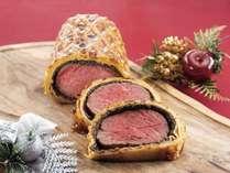 クリスマスディナービュッフェ_牛肉のパイ包み(イメージ)