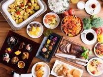 ホテルフォルツァ金沢の朝食/和洋ブッフェ