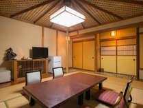 ◆和洋室プラン◆ベットと畳スペースでリラックス~ご夕食は当館自慢の季節会席に舌鼓~