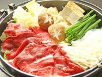 絶品の近江牛ですき焼き鍋★