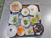 【朝食一例】定番の和定食で、元気に1日をスタート!