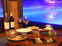 夕食 -Dinner-◆幻想的な雰囲気の中、創作洋食のコースディナーをお楽しみください